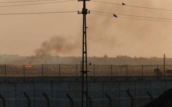 «Τουρκικά αεροσκάφη βομβαρδίζουν περιοχές στη βορειοανατολική Συρία»