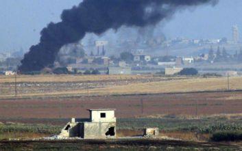 Οι τουρκικές ένοπλες δυνάμεις έπληξαν ως τώρα 181 στόχους στη Συρία