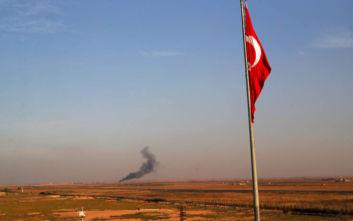 Τουρκική επίθεση στη Συρία:Στρατιωτικά εμβατήρια της οθωμανικής περιόδου ακούγονται από τα μεγάφωνα