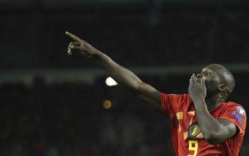 Πρώτος στην ιστορία του Βελγίου που πέρασε τα 50 γκολ ο Λουκάκου