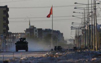 Συρία: 74 νεκροί Κούρδοι μαχητές κατά τη στρατιωτική επιχείρηση της Τουρκίας