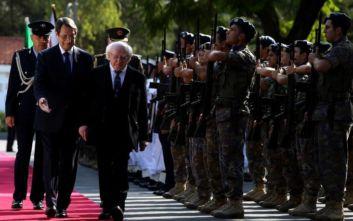 Ανήσυχος ο Ιρλανδός πρόεδρος με τις κινήσεις της Τουρκίας σε Συρία και κυπριακή ΑΟΖ