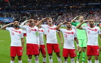 UEFA: Πειθαρχική έρευνα για την Τουρκία μετά τους στρατιωτικούς χαιρετισμούς