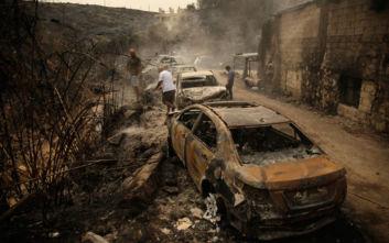 Λίβανος: Στάχτες παντού και 3 νεκρούς άφησαν πίσω οι μεγάλες φωτιές