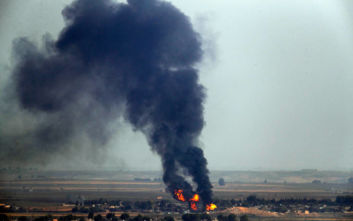 Οπλισμένα drones χτύπησαν εγκαταστάσεις πετρελαίου και φυσικού αερίου στη Συρία
