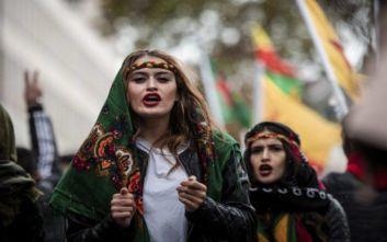 Γερμανία: Διαδηλώσεις υπέρ των Κούρδων και κατά της τουρκικής στρατιωτικής επιχείρησης στη Συρία