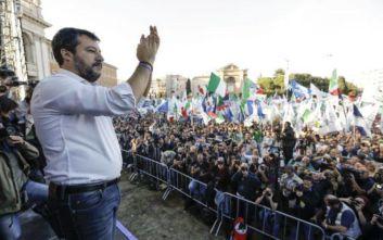 Ιταλία: Κοντά σε μεγάλη νίκη ο συνασπισμός υπό τον Σαλβίνι σε παραδοσιακό προπύργιο της αριστεράς