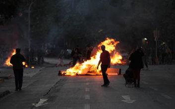 Τρίτη νύχτα απαγόρευσης κυκλοφορίας στη Χιλή μετά τις αιματηρές ταραχές