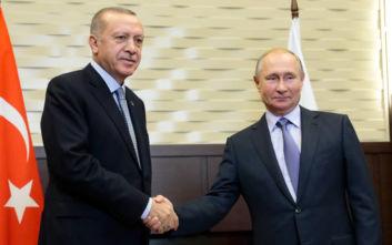 Πούτιν - Ερντογάν: Νέα προθεσμία 150 ωρών για τους Κούρδους στην Συρία