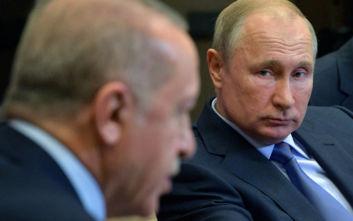 Πούτιν σε Ερντογάν: Ρωσία και Τουρκία θα διαδραματίσουν τον ρόλο τους στη Συρία