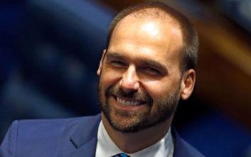 Βραζιλία: Ο γιος του Μπολσονάρου δεν θα είναι υποψήφιος για πρεσβευτής της χώρας