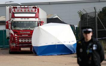 Δύο συλλήψεις στο Βιετνάμ για τους νεκρούς που βρέθηκαν σε φορτηγό ψυγείο στο Έσεξ