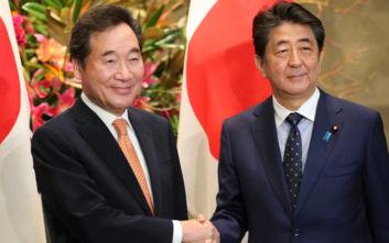 Ιαπωνία και Νότια Κορέα θέλουν να αποκαταστήσουν τις διμερείς σχέσεις