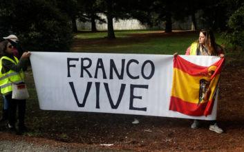 Ισπανία: Ολοκληρώθηκε η τελετή εκταφής του δικτάτορα Φράνκο