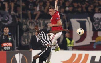 Europa League: Δύσκολα πέρασε η Μάντσεστερ από τη Σερβία, βαθμό πήρε το ΑΠΟΕΛ στην Καραμπάκ
