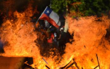 Χιλή: Νέα βίαια επεισόδια, λεηλασίες και εμπρησμοί