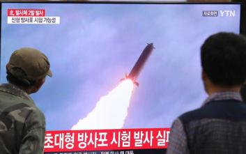 Βαλλιστικούς πυραύλους μικρού βεληνεκούς εκτόξευσε η Β. Κορέα