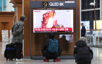 Η Βόρεια Κορέα εκτόξευσε βλήματα άγνωστης ταυτότητας