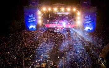 ΟΠΑΠ Αll Stars Concert: Δείτε τι έγινε στη συναυλία της χρονιάς με Ρουβά, Παπαρίζου και Φουρέιρα