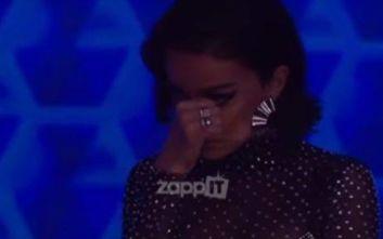 The Final Four: Ξέσπασε σε κλάματα η Ελένη Φουρέιρα