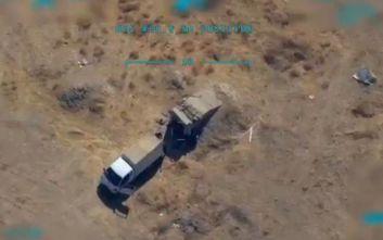 Η Άγκυρα δημοσίευσε νέο βίντεο με αεροπορικό πλήγμα σε Κούρδους