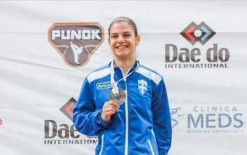Ασημένιο μετάλλιο για την Ελλάδα στο Παγκόσμιο Πρωτάθλημα Κορασίδων στο καράτε