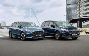 Τα Ford Galaxy και S-MAX έρχονται ανανεωμένα