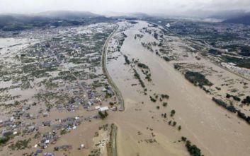 Ιαπωνία: Τουλάχιστον 35 άνθρωποι έχασαν τη ζωή τους εξαιτίας του πλήγματος του τυφώνα Χαγκίμπις