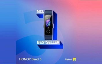 Sold Out έγινε το Honor Band 5 το πρώτο Lifestyle & Fitness Band της HONOR