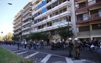 Ένταση και χημικά στο κέντρο της Αθήνας