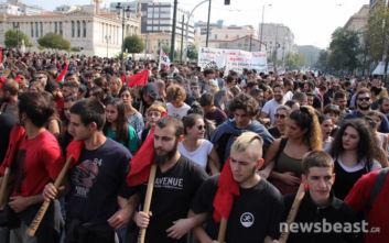 Πορεία από φοιτητές στο κέντρο: Κλειστή η Πανεπιστημίου