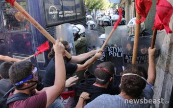 ΓΑΔΑ για επεισόδια στο κέντρο της Αθήνας: Οι αστυνομικοί απάντησαν στην επίθεση