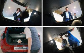 Ένα… φάντασμα στο MegaBox του νέου Ford Puma
