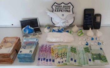 Σύλληψη αλλοδαπού στην Κέρκυρα με περισσότερο από μισό κιλό κοκαΐνης