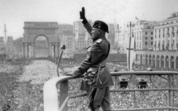 Το ένα πέμπτο των Ιταλών... αθωώνει τον Μπενίτο Μουσολίνι