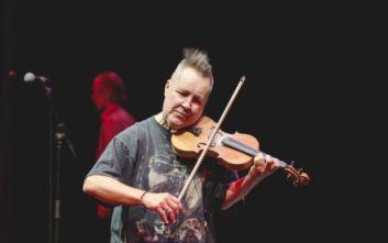 Ακυρώθηκε λόγω βροχής η συναυλία του βιολιστή Nigel Kennedy στο Ηρώδειο