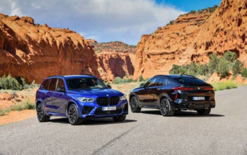Αποκαλυπτήρια για τις νέες BMW X5 M, X5 M Competition, X6 M και X6 M Competition