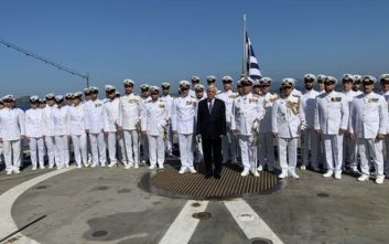 Προκόπης Παυλόπουλος: «Οι ελληνικές Ένοπλες Δυνάμεις είναι φύλακες των θαλάσσιων συνόρων της ΕΕ»