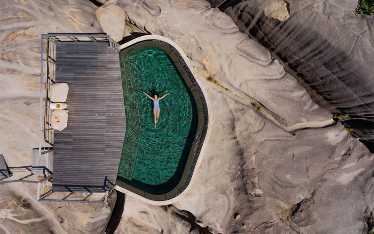 Το μοναδικό resort των βράχων από 3.000 ευρώ – Newsbeast