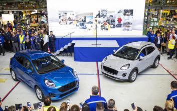 Αρχίζει η παραγωγή του νέου Ford Puma