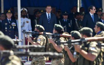 Ο λόγος που τα ελληνικά F-16 δεν εμφανίστηκαν στην κυπριακή παρέλαση