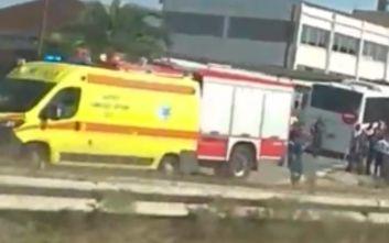 Θεσσαλονίκη: Τροχαίο με λεωφορείο του ΚΤΕΛ, 12 τραυματίες