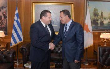 Παναγιωτόπουλος και Κύπριος πρέσβης συζήτησαν τις προκλήσεις στην Ανατολική Μεσόγειο