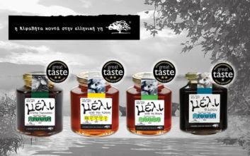 Κορυφαίες διακρίσεις για το μέλι της ΑΒ Βασιλόπουλος στα Great Taste Awards 2019