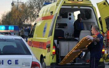 Φορτηγό έπεσε πάνω σε σταματημένο αυτοκίνητο στην Εγνατία, νεκρή μία γυναίκα