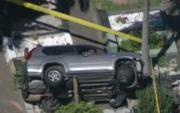 Εβδομηντάχρονος έπεσε με το αυτοκίνητό του σε νεκροταφείο