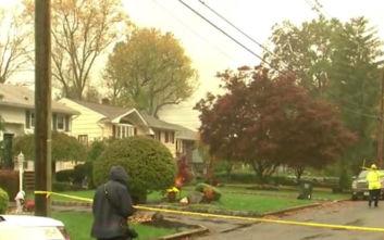 Συνετρίβη αεροσκάφος στο Νιου Τζέρσεϊ: Καίγονται σπίτια