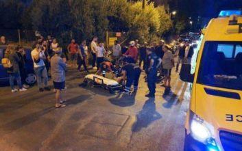 Σοβαρό τροχαίο στο Ηράκλειο, διανομέας μεταφέρθηκε διασωληνωμένος στο νοσοκομείο