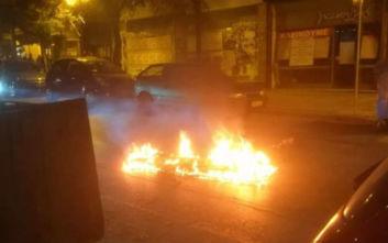 Έβαλε φωτιά σε στρώμα και αναστάτωσε το κέντρο της Θεσσαλονίκης