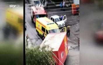 Μαρτυρίες για το τροχαίο στην Ηλιούπολη: Είδα πόδια κάτω από το φορτηγό, έτρεξα για βοήθεια